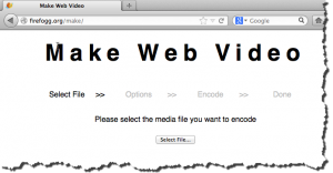 Make Web Video