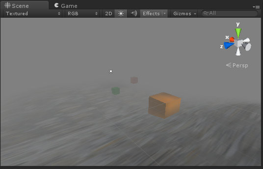 Fog in the Editor